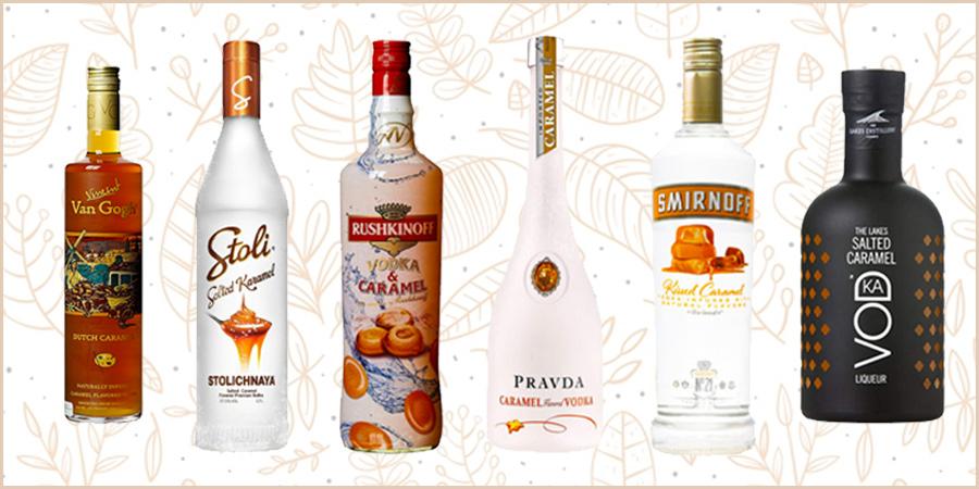 6 salzig-süße Karamell Vodkas für herbstliche Cocktails