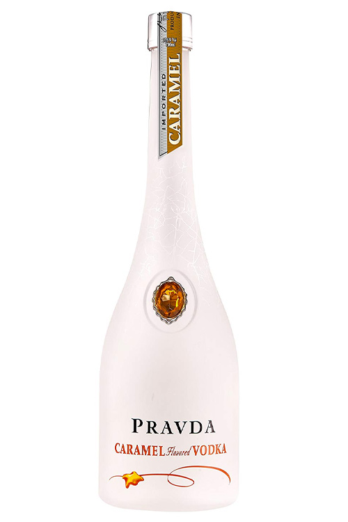 Pravda Caramel Flavoured Vodka